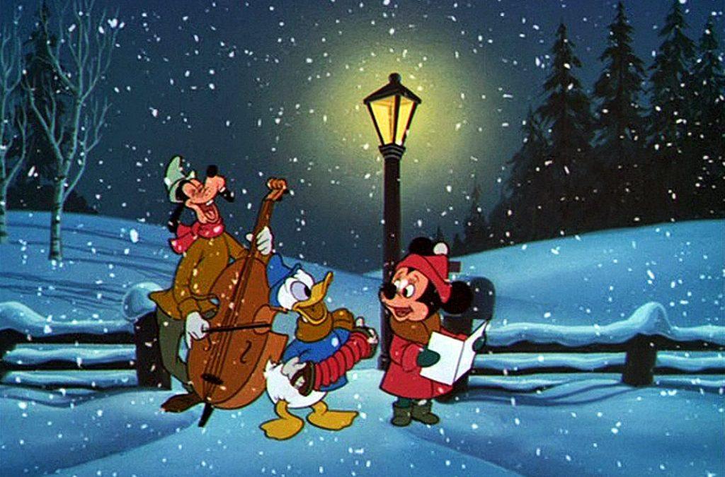 Kalle Anka och hans vänner önskar god jul med ett quiz!