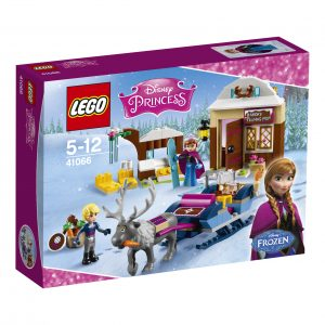 Kartong för lego slädäventyr
