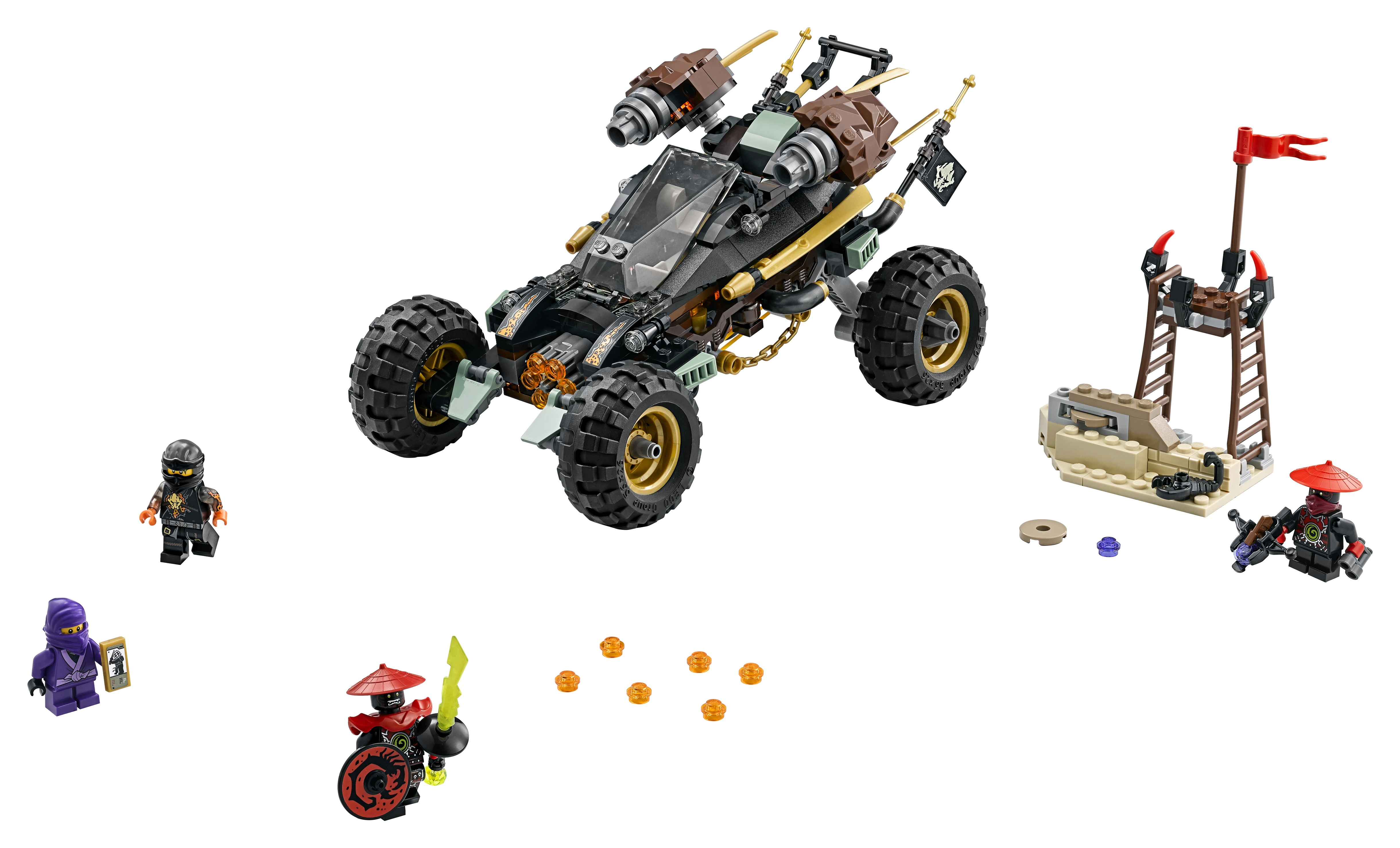 Lego ninjago rock roader