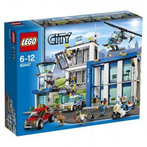 kartong för lego city polisstation