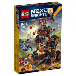 Nexo knights kartong