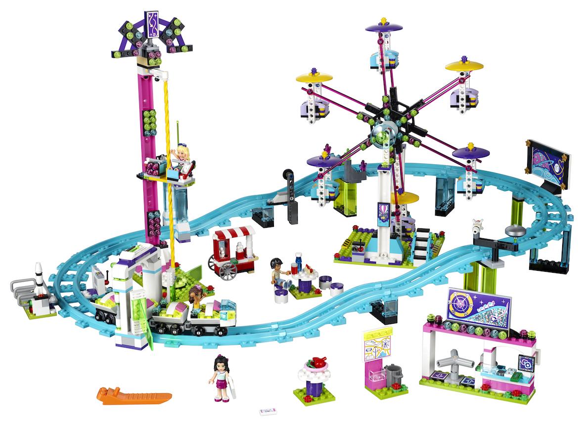 berg-och-dalbana i lego