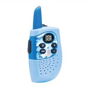 Blåa walkie-talkie