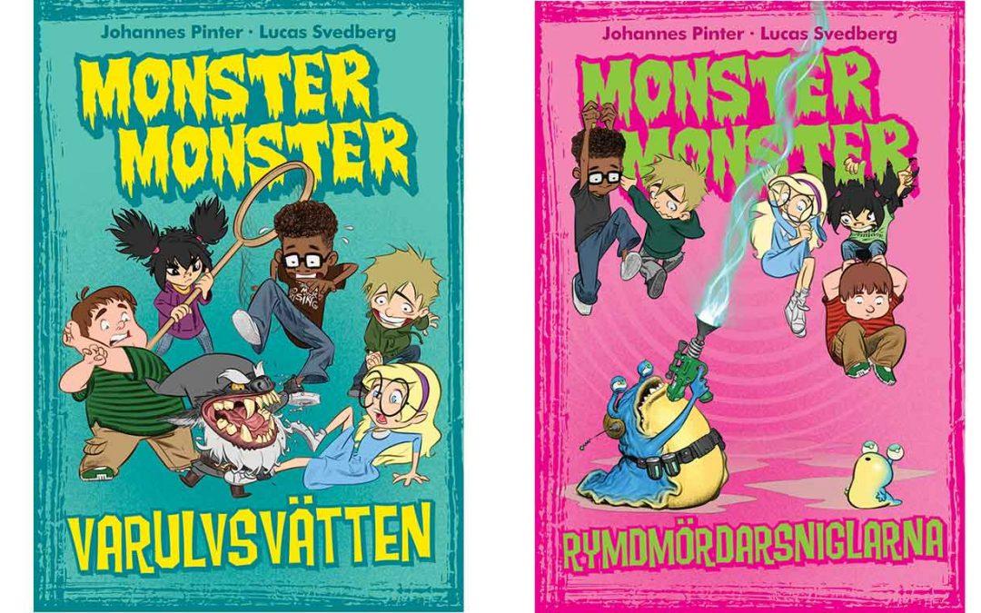 Vinnarna i Monster monster-tävlingen