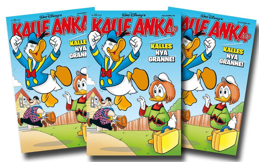 Möt Kalle Ankas nya granne i nya numret av Kalle Anka & C:o!