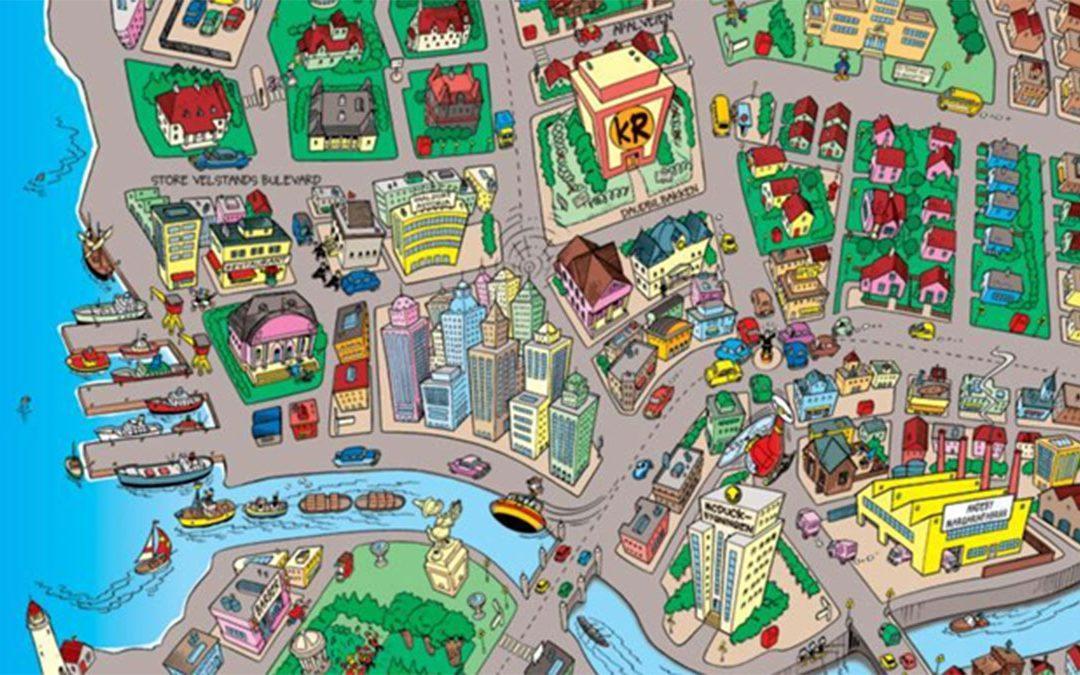 Quiz: Vad kan du om Ankeborg och dess gator?