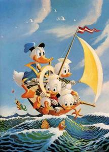Kalle och Knattarna seglar