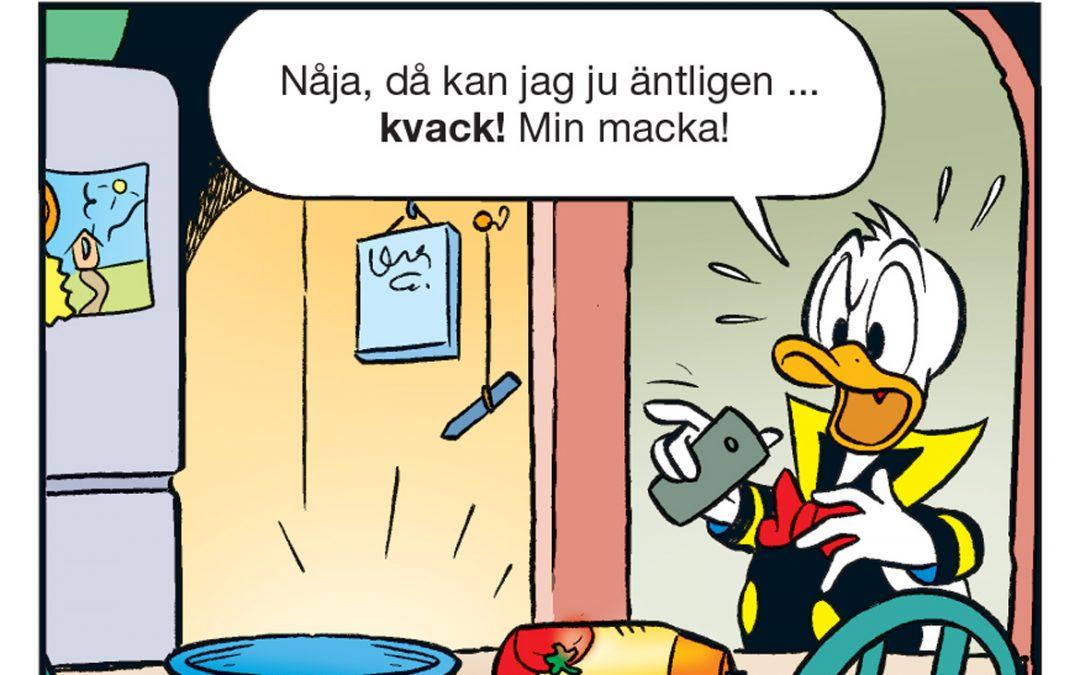 Deckargåtan nr14: Vem snodde Kalles macka?