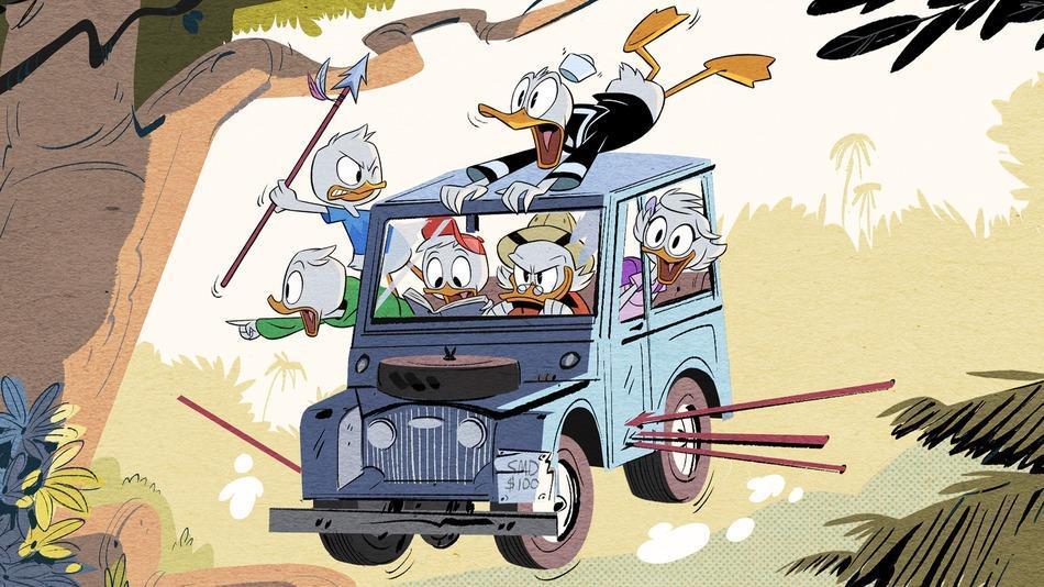 Se första bilden ur nya Duck Tales!