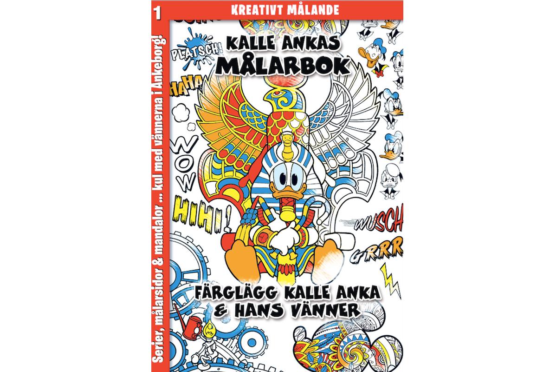Färglägg Ankeborg i ny målarbok!