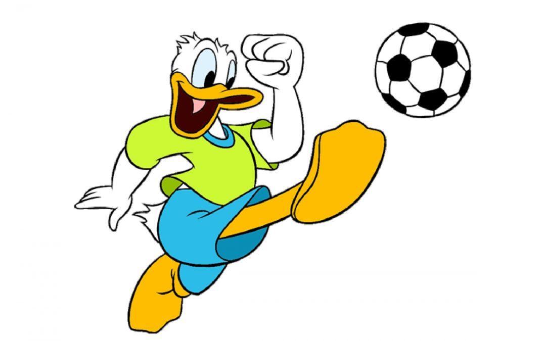 Kalle Ankas bästa fotbollsserier