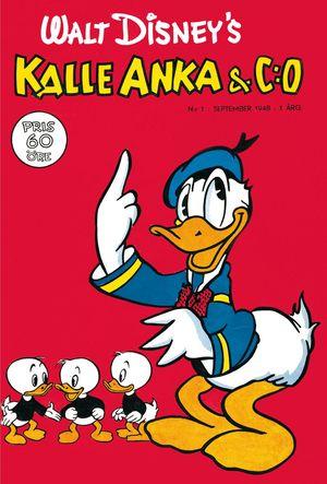 Kalle Anka-tidning med knattarna