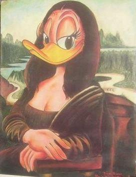 Mona Lisa Duck av Dick Ruhl, Walt Disney production.