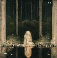 """Tuvstarr"" av John Bauer."