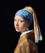 """""""Flicka med pärlörhänge"""" av Johannes Vermeer."""