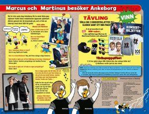 martinus besöker ankeborg