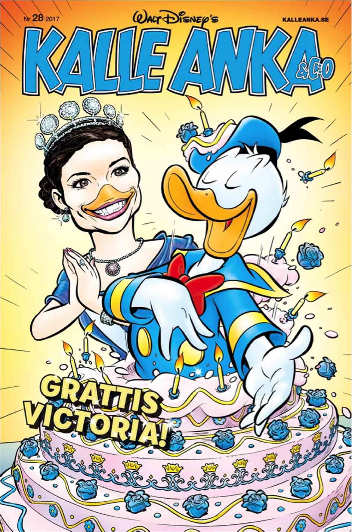Kronprinsessan Victoria ankifierad