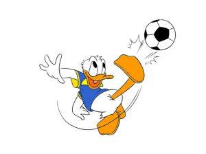 fotboll i kalle anka pocket