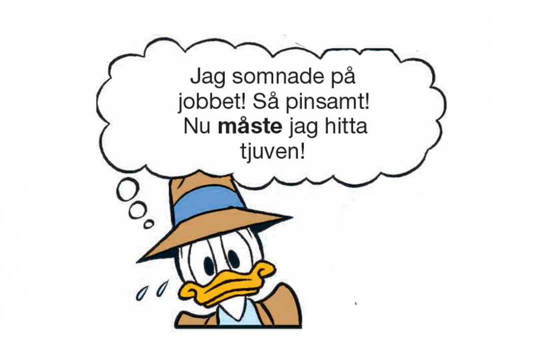 Detektiv Kalle Anka i veckans deckargåta